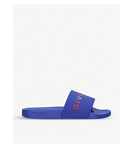 GIVENCHY Logo sliders (Blue+other