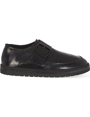 MARSELL Blocco Para buckled creepers
