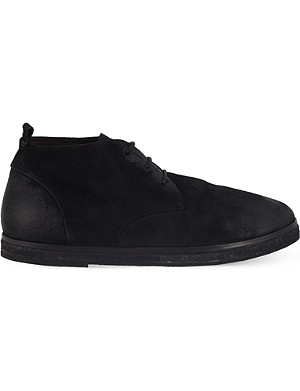 MARSELL Leather chukka boots