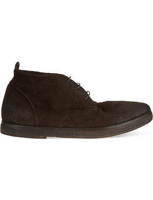 MARSELL Leather chukka boots