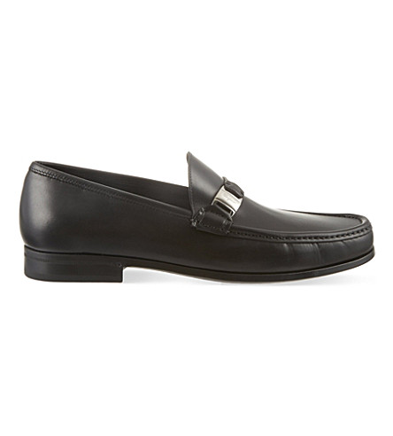 SALVATORE FERRAGAMO Marno vara loafers (Black