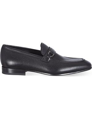 FERRAGAMO Manuelle leather loafers