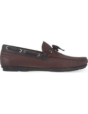 FERRAGAMO Mack driving shoes