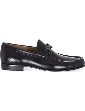 FERRAGAMO Maurice slim leather loafers