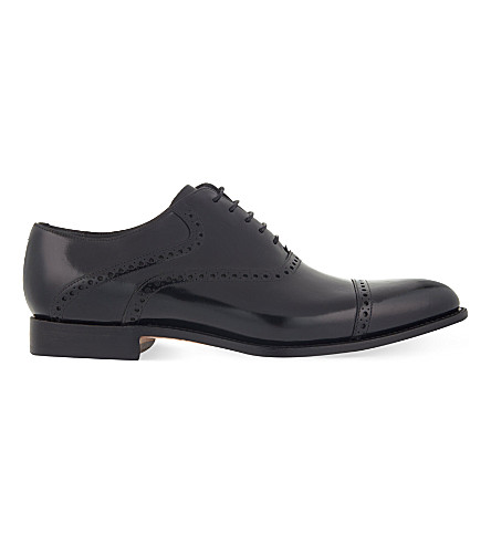 BARKER Wilton Oxford shoes (Black