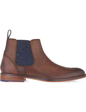 TED BAKER Camroon paisley Chelsea boots