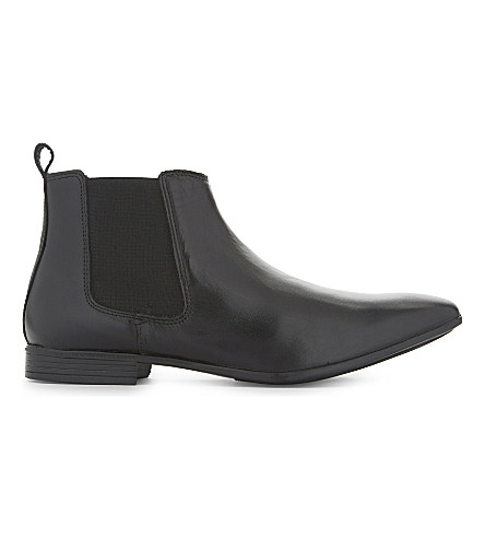 KG KURT GEIGER Bracknell leather Chelsea boots (Black