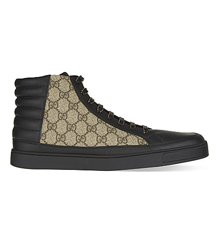 GUCCI Common high-top trainers (Black