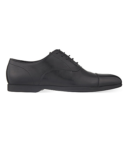 PAUL SMITH Eduardo leather Oxford shoes (Black