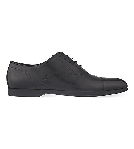 PAUL SMITH Eduardo leather Oxford shoes (Black