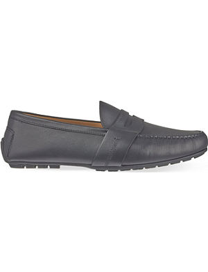 RALPH LAUREN Hayward leather penny loafers