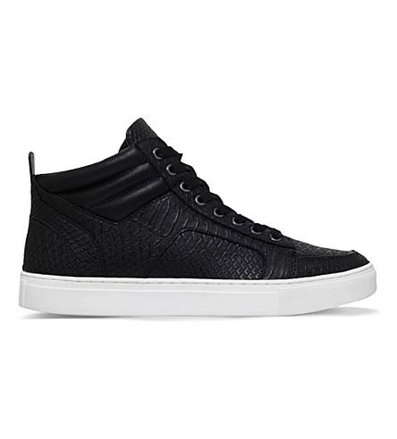 KG KURT GEIGER Kurtis high-top sneakers (Black