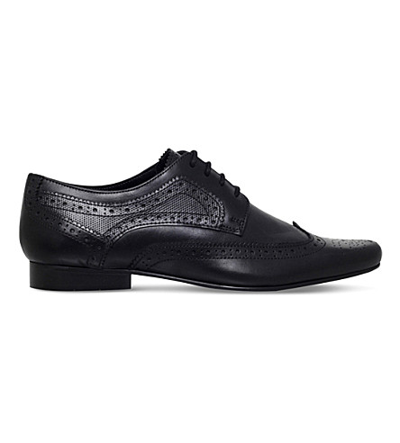 KG KURT GEIGER Bassie leather brogues (Black