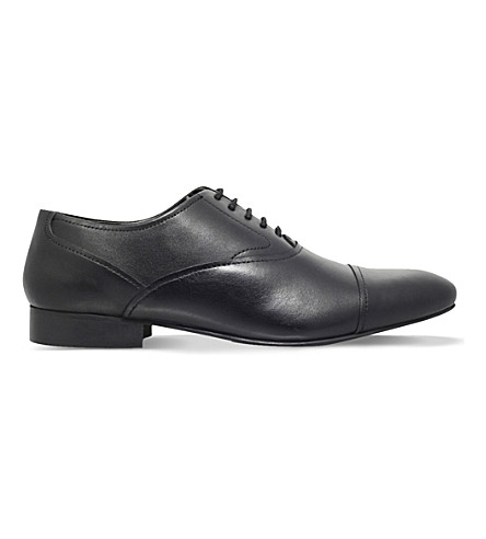 KG KURT GEIGER Anthony leather Oxford shoes (Black