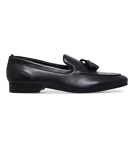 KG KURT GEIGER Coleman leather loafers (Black
