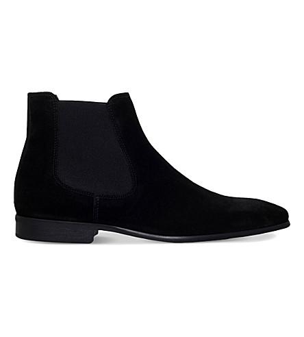 KG KURT GEIGER Francis suede chelsea boots (Black