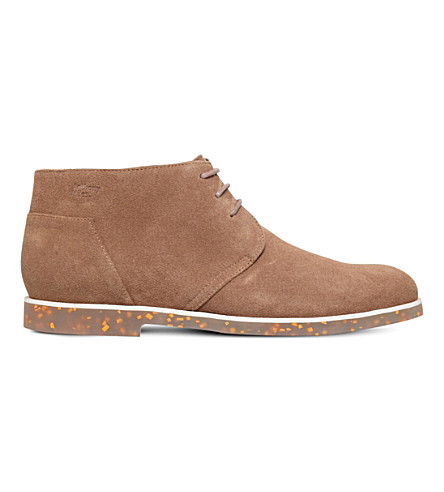 ANTHONY MILES Clayton suede chukka boots (Brown