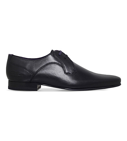 TED BAKER Marrt 2 leather derby shoes (Black