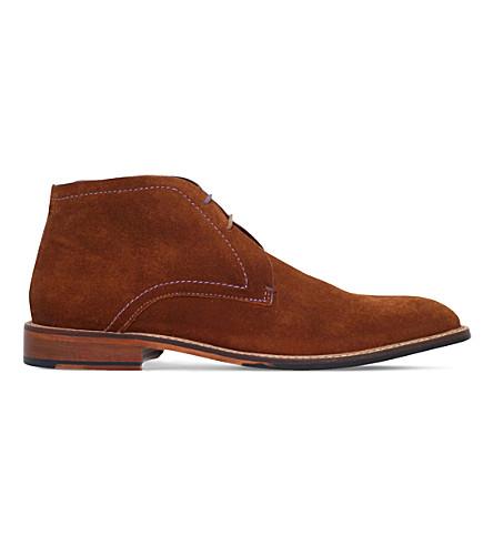 TED BAKER Torsdi 4 suede desert chukka boots (Tan
