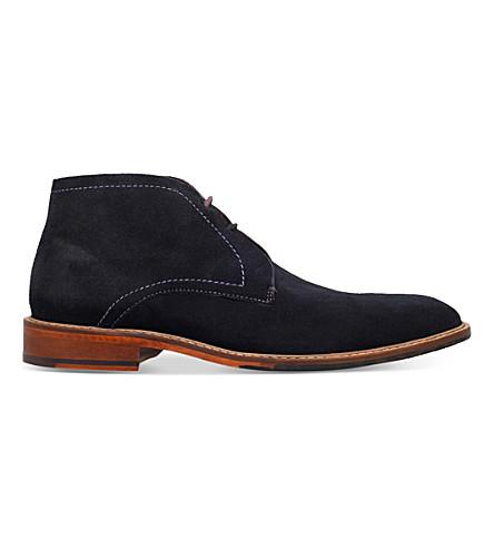 TED BAKER Torsdi 4 suede desert boots (Navy