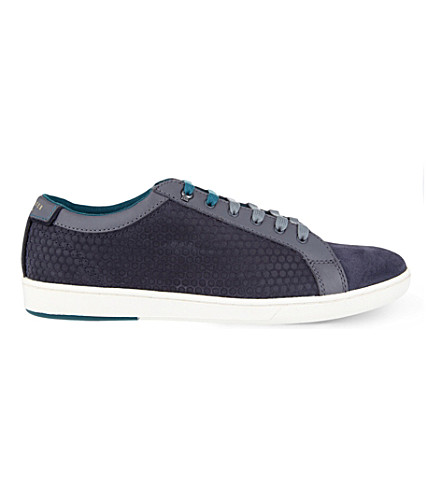 TED BAKER Slowne II suede sneakers (Grey