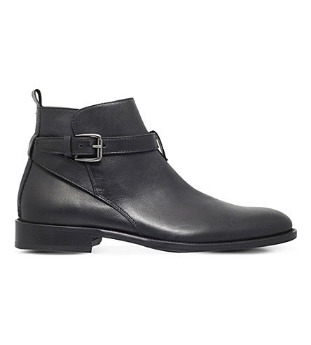 KURT GEIGER LONDON Joseph leather Chelsea boots (Black