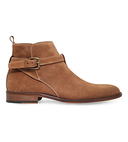 KURT GEIGER LONDON Joseph suede Chelsea boots (Beige