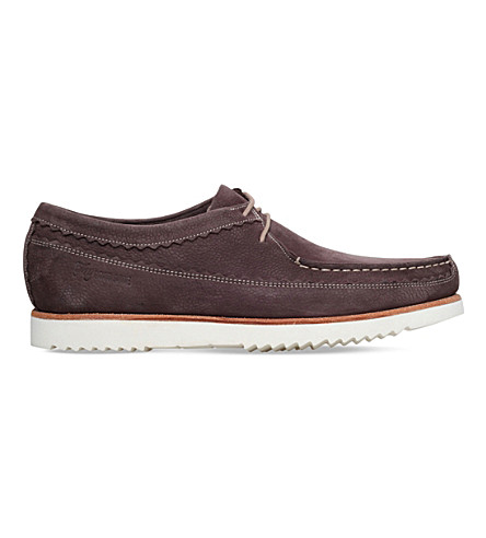 GRENSON Owen leather moccasins (Brown