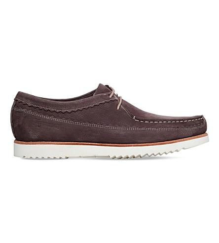 GRENSON Owen leather moccasins (Brown