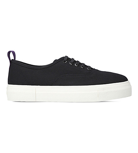 EYTYS Mother low-top canvas trainers (Black