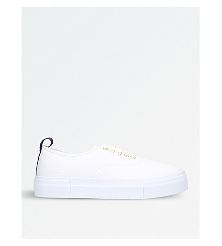 EYTYS Mother low-top canvas trainers (White