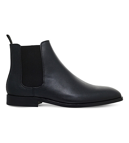PAUL SMITH Gerald leather Chelsea boots (Black