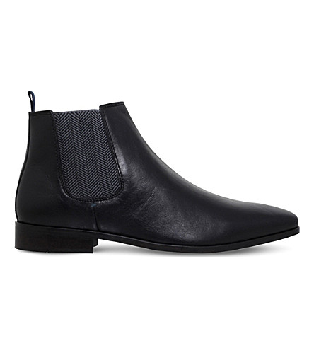 KG KURT GEIGER Black Baxter Chelsea boot (Black