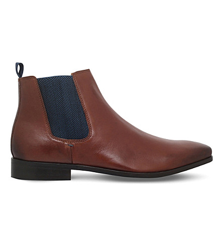 KG KURT GEIGER Brown Baxter Chelsea boot (Tan