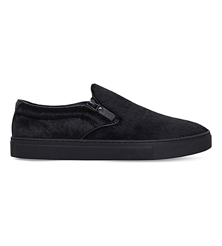 KG KURT GEIGER Andy zipped skate shoes (Black