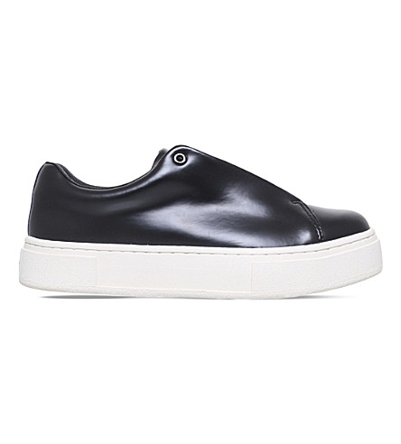 EYTYS Doja leather slip-on trainers (Black