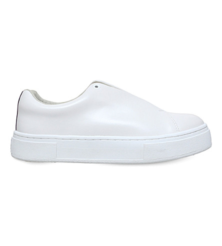 EYTYS Doja leather slip-on trainers (White