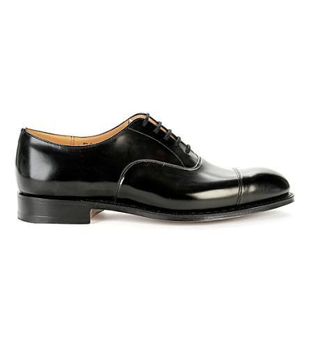 CHURCH 领事 G 牛津鞋 (黑色