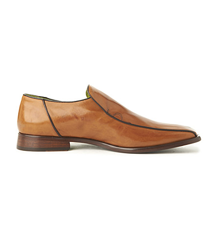 OLIVER SWEENEY Rome loafers (Tan