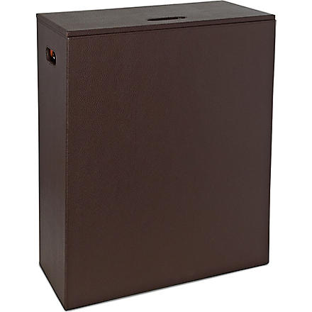 WEST ONE BATHROOMS Kyoto laundry basket (Brown
