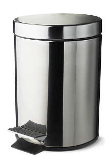 WEST ONE BATHROOMS Dusty five-litre pedal bin