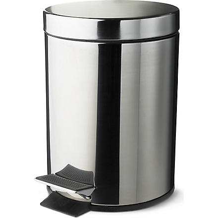 WEST ONE BATHROOMS Dusty 5 litre pedal bin