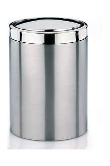 WEST ONE BATHROOMS Ari stainless steel swing bin