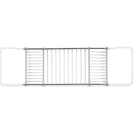WEST ONE BATHROOMS Deluxe adjustable bath rack (Chrome