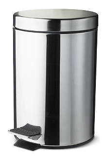 WEST ONE BATHROOMS Pedal bin three litres
