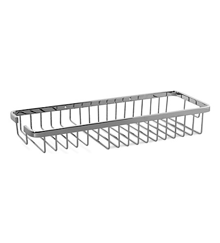 WEST ONE BATHROOMS Rectangular shower basket