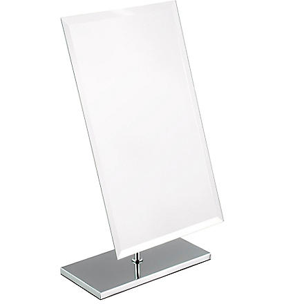 WEST ONE BATHROOMS Free-standing large rectangular mirror