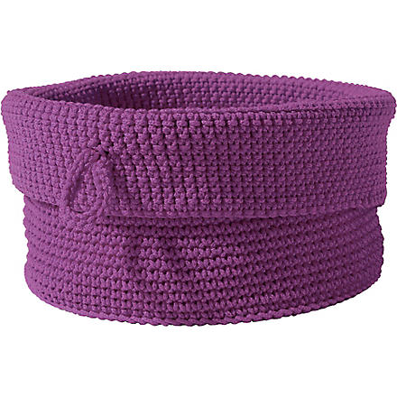 WEST ONE BATHROOMS Confetti basket (Purple