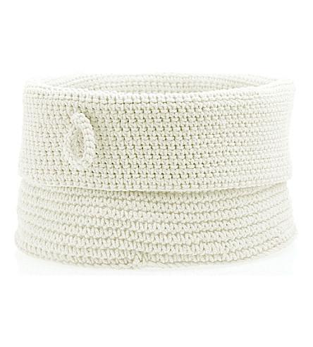 WEST ONE BATHROOMS Confetti basket (White