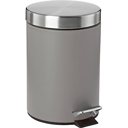 WEST ONE BATHROOMS Confetti pedal bin (Grey